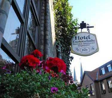 Restaurant mit Hotel