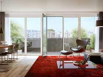 Maisonette mit Terrasse und Balkon im Gleis Park