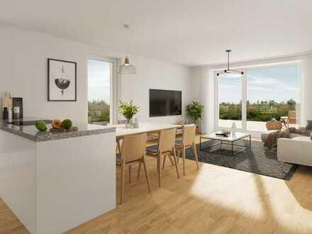 GEBORGENHEIT ERLEBEN - Moderne ETW mit 3 Zimmer und Sonnenloggia in idealer Lage