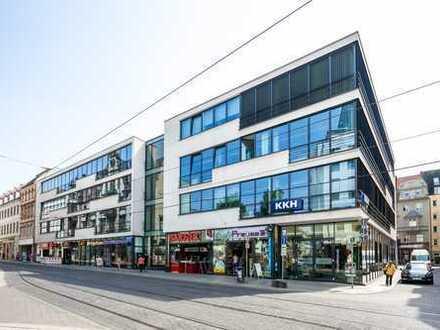 Ihr Handelsplatz in der Innenstadt von Halle - direkt neben Galeria Kaufhof!