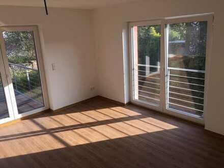 Moderne 2-Zimmer-Wohnung mit großem Balkon und Garage