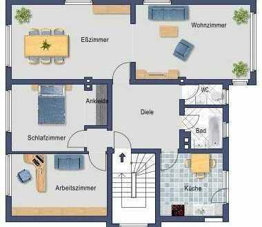 Drei- bis Vierraum-Garten-Eigentumswohnung im Dreifamilienhaus in Alt-Bredeney