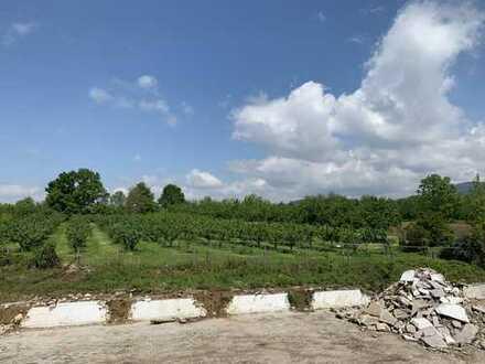 Attraktives Baugrundstück mit ca. 579 m² für EFH / ZFW in bevorzugter Lage von Sasbach