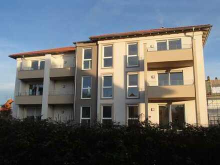 Zentral gelegene 3-Zimmer-Neubauwohnung in Neuendettelsau