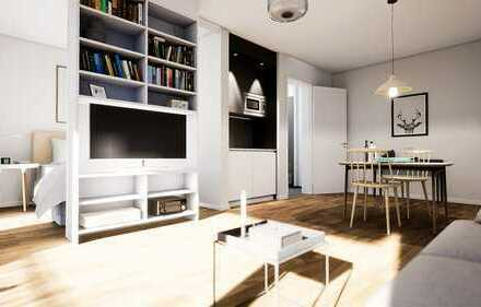 Top Lage, perfekte Größe und viele Möbel bereits inklusive! Hippe Mikroappartments! WE44