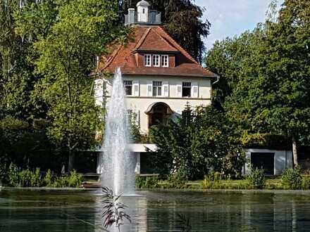 Villa am Kostersee in Sindelfingen mit freiem Seeblick