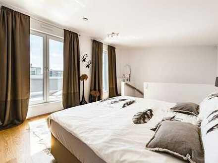 Reizvolle Gestaltungsmöglichkeiten in der Maisonette-Wohnung!
