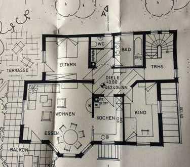Gepflegte 3-Zimmer-Erdgeschosswohnung mit Balkon, Terasse, Garten und Einbauküche in Markdorf