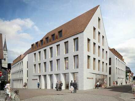 Neue, hochwertige 3-Zimmer Wohnung im Zentrum von Ehingen in den neuen Volksbankhöfen - Erstbezug