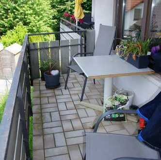 3 Zimmer-Maisonette mit Balkon