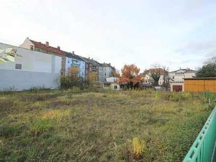 Großer, sonniger, ebener Bauplatz für Ein- bzw. Mehrfamilienhaus im Zentrum von Gera