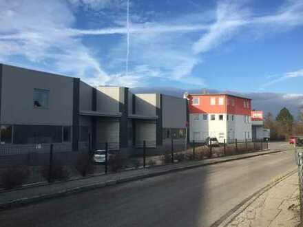 Lager und Produktionsfläche ebenerdig & LKW Rampen