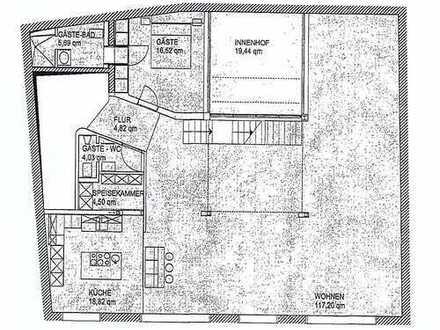 EXCLUSIV - Wer das Besondere liebt - Wohnung direkt im Zentrum - 6 Zimmer - 3 Terrassen u.v.m.