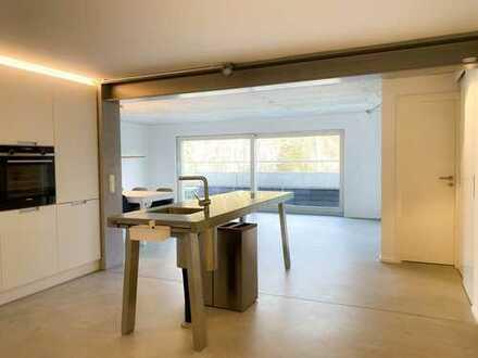 2,5-Zimmer-Loft-Wohnung mit Balkon und Einbauküche in Esslingen-Nord
