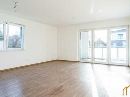 Neuwertige Wohnung in zentraler Lage von Rhauderfehn mit Balkon und Carport!