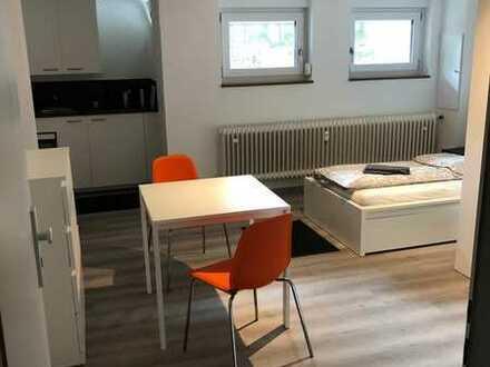 Stilvolle, sanierte 1-Zimmer Appartment mit Einbauküche in Eppelheim