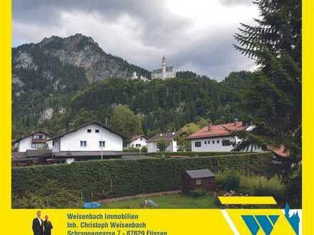 Großzügiges Wohnen in lichtdurchfluteten Räumen in direkter Nähe des Märchenschlosses Neuschwanstein