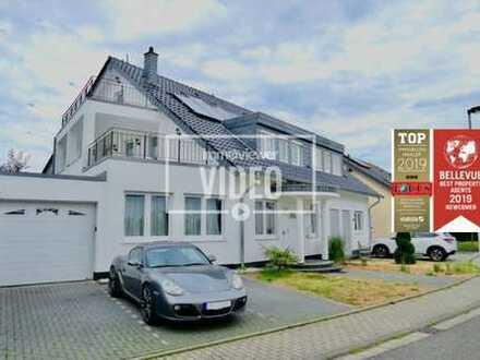 Bieterverfahren: modernes Einfamilienhaus in Rheinnähe an der Stadtgrenze zu Bonn