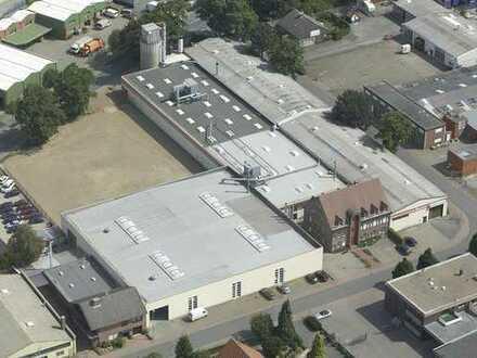 Produktions- / Logist-Hallen in City-nahem Gewerbegebiet von Bocholt günstig zu vermieten