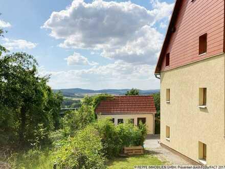 Wohnen im Grünen! 3-Raum Wohnung mit Einbauküche und Garten