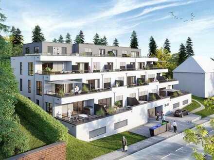 KfW 40: Penthousewohnung in einem Terrassenhaus mit schönem Blick über Zweibrücken