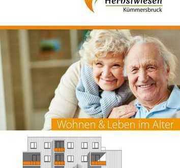 Senioren-Wohnpark Kümmersbruck, ETW von 58 m² - Wohnung Nr. 7 (KfW 40)