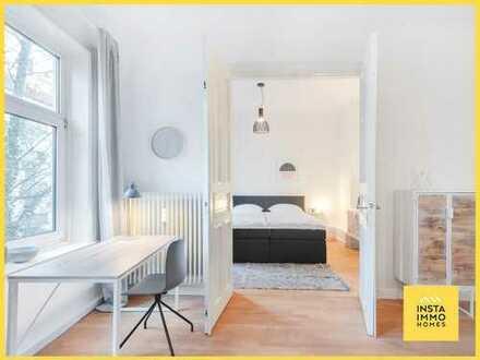 Modern möblierte 2-Zimmerwohnung in St. Pauli (Nebenkosten und WLAN inklusive)