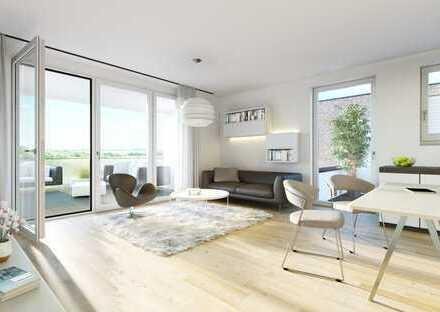 Über den Dächern von Korschenbroich - Lichterfülltes Penthouse für Sonnenverwöhnte