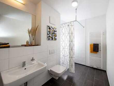 Sei der Erste: 3-Raum-Wohnung mit Balkon und bodengleicher Dusche im Neubau!