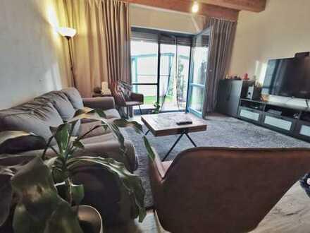 RMH Friedrichshofen, möbl., 3 (evtl. 4) Zimmer, kl.Garten, Balkon, 2Stellpl.