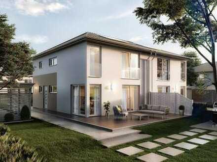 Zentrumnahes Grundstück für eine Doppelhaushälfte auf großem Grundstück