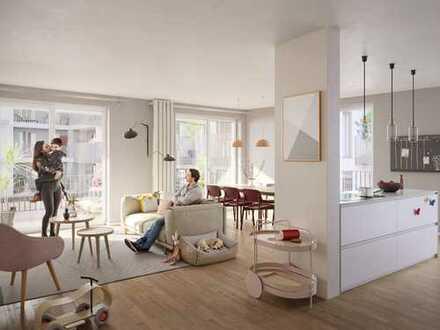 Das Beste für Ihre Familie: Großzügige 4-Zimmer-Wohnung mit Balkon, Loggia und 2 Bädern in Top-Lage