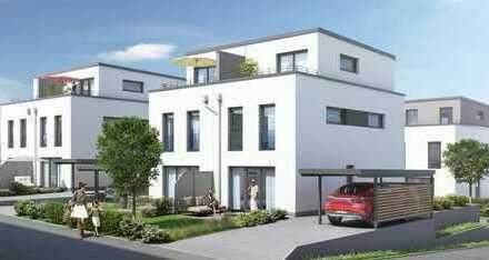 Optimal geschnittene Doppelhaushälfte auf Erbbaugrundstück mit Terrasse und Garten