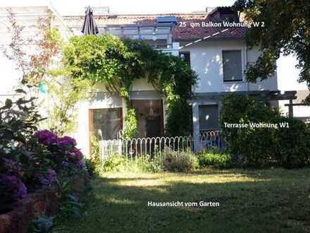 Renovierte, ruhige und großzügige 3-4 ZKBT Wohnung mit Gartennutzung
