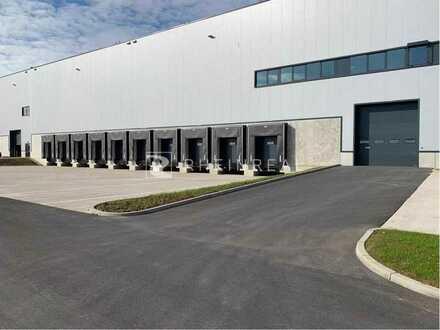 Neuwertige, moderne Logistikflächen