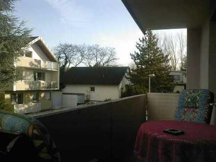 1 Zimmerapartment mit EBK und großem Balkon