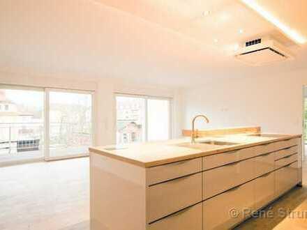 Großzügige 4 Raum Wohnung Neubau, Erstbezug, 3 Balkone, Einbauküche