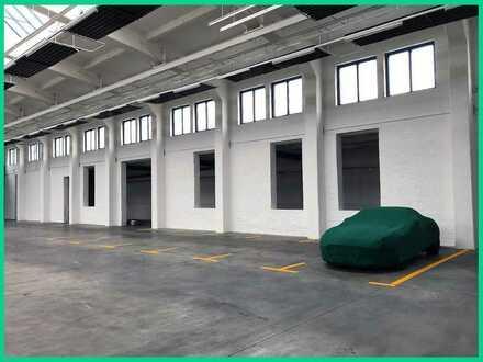 Freie PKW-Hallenstellplätze (Video+Alarm)