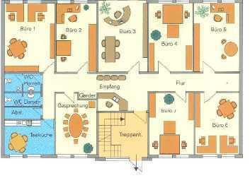 Büro-/ Verwaltungsgebäude im Immo-Park Erfurt West ab sofort zu vermieten, Preis ab 3,00 € pro m²