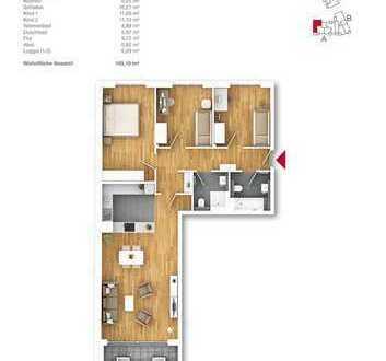 TOP Wohnung - 4 Zimmer Neubau ETW