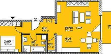 2-Zimmerwohnung in Lörrach-Tumringen
