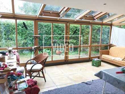 Erholung garantiert in sehr schöner grosser Wohnung mit Garten - Ortsrandlage
