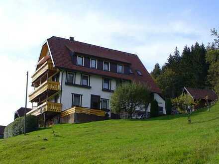 Ruhig gelegene 3-Zimmer Miet-Wohnung mit herrlicher Aussicht in Baiersbronn-Mitteltal