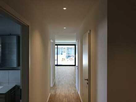 Garten mit Charme! Sehr schöne 3,5 Zimmer-Wohnung (E-1) / EG / 91,18 m² / inkl. Einbauküche u. v. m.