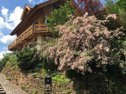Ein kleines Paradies im Pfälzer Wald ... 1-3 WE im Bio-Doppelblockwandhaus !!!