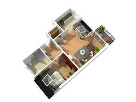 Wohnglück im Dachgeschoss! Eigentumswohnung in bester Lage von Waltrop - WE7