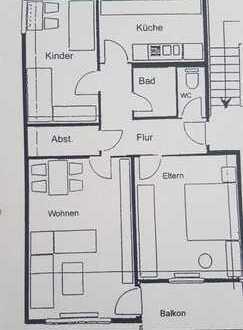 3,5 Zimmer mit grünem Umfeld und Top Lage