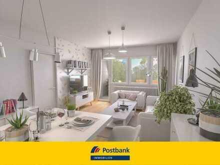 Provisionsfrei: 2-Zimmer-Wohnung in gepflegter Wohnanlage am Isarhochufer