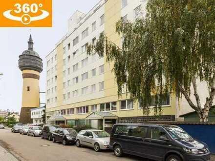 Gepflegte Dreizimmerwohnung mit Süd-Loggia und Tiefgaragenstellplatz in Rödelheim