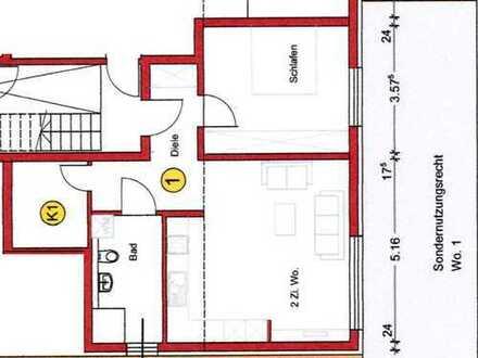 Erstbezug: exklusive 2-Zimmer-Wohnung mit Einbauküche und Balkon in Heimsheim